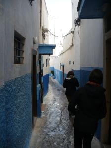 A tiny alley in the medina.